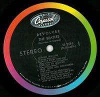 THE BEATLES Revolver Vinyl Record LP US Capitol 1966